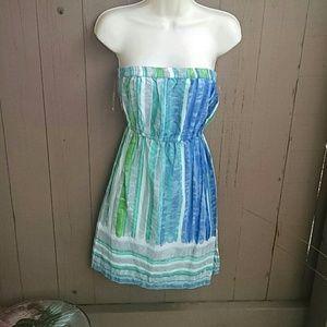 Billabong strapless sundress size L